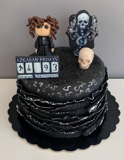 tort Bellatriks Lestrange w wiezieniu Azkabanu