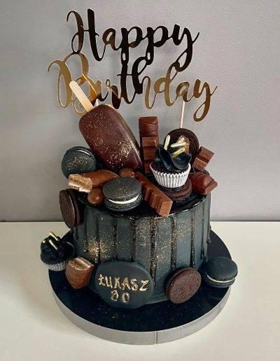 tort dla niego czarny