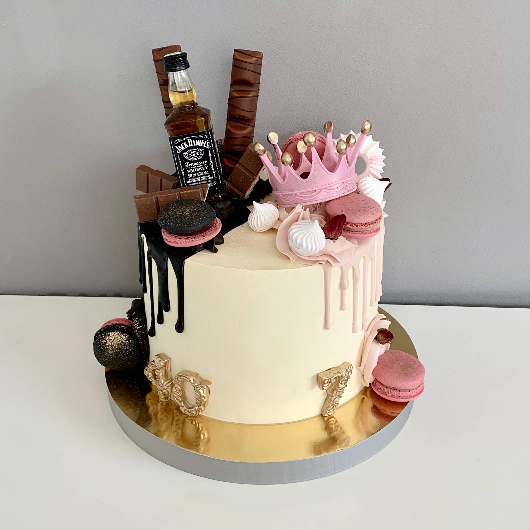 tort na podwojne urodziny