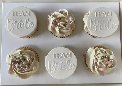 muffinki bride team na wieczór panieński