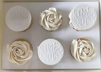 muffinki weselne mrs & ms