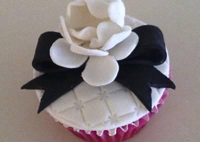 muffinka róża biała